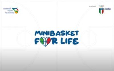 #Minibasket4life: crescere persone autonome, responsabili e collaborative.